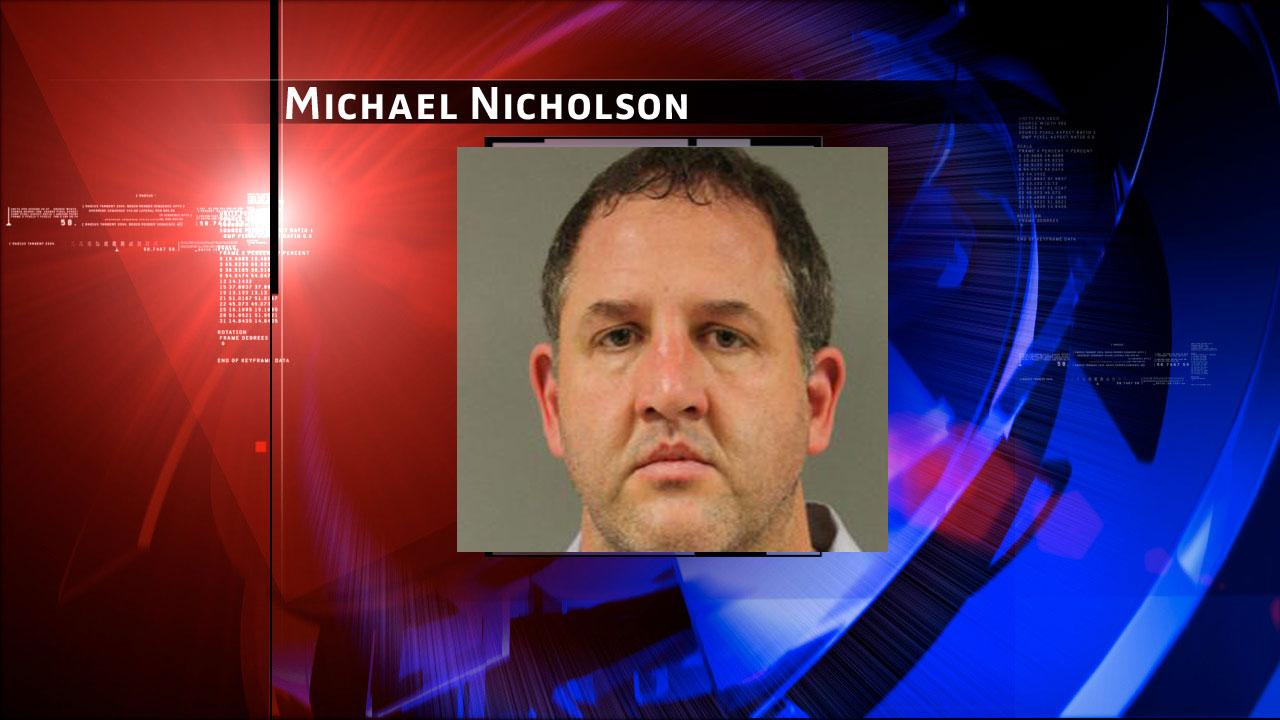 Michael Nicholson, 43, is charged with prostitution. Harris County Sheriffs Office Vice Unit investigators made a dozen arrests on Tuesday, May 7, 2013, during an undercover prostitution sting in north Harris County.HCSO
