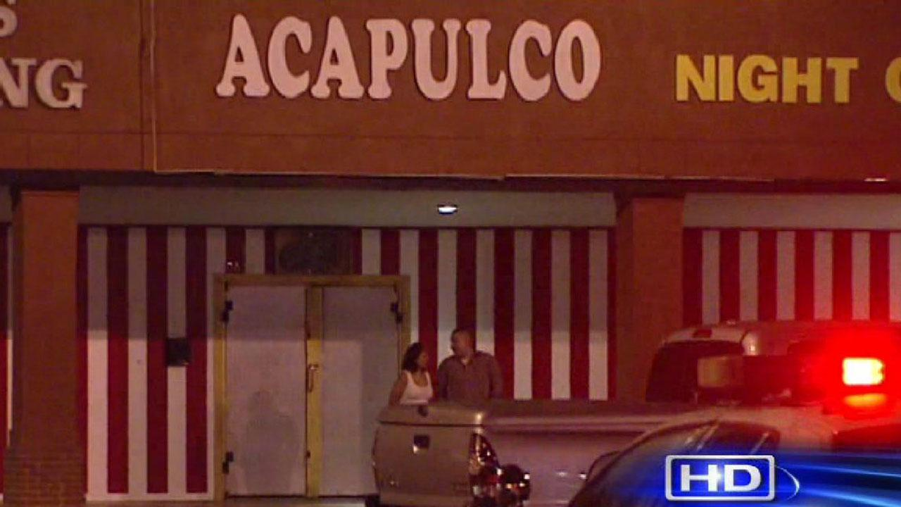 Deputies are investigating a shooting at this night club in northwest Harris County