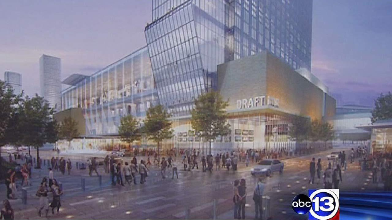 Expect transformations in downtown in advance of Super Bowl 51