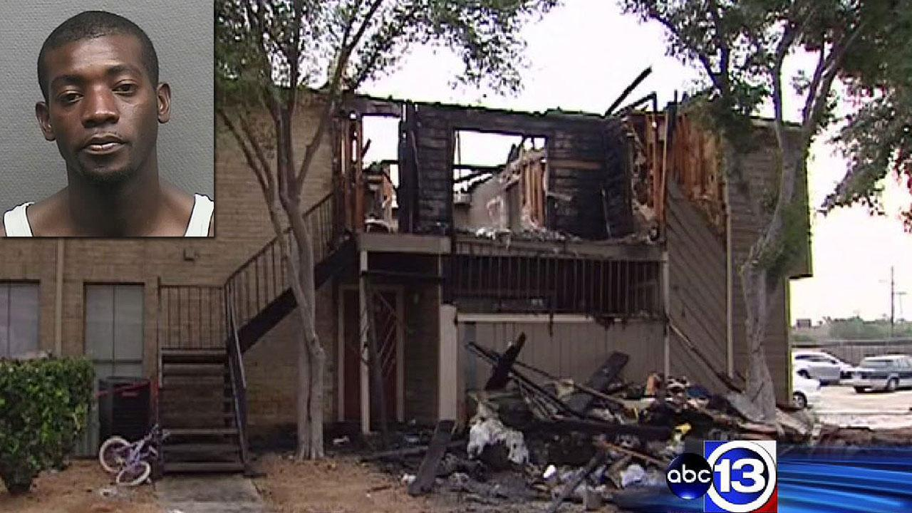 Police: West Houston apartment fire was no accident