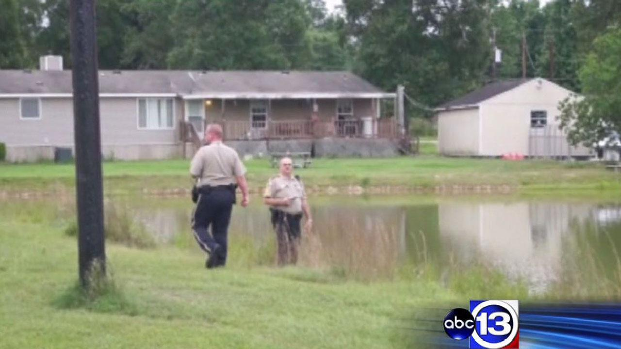 Investigators at the scene of a drowning in Cleveland