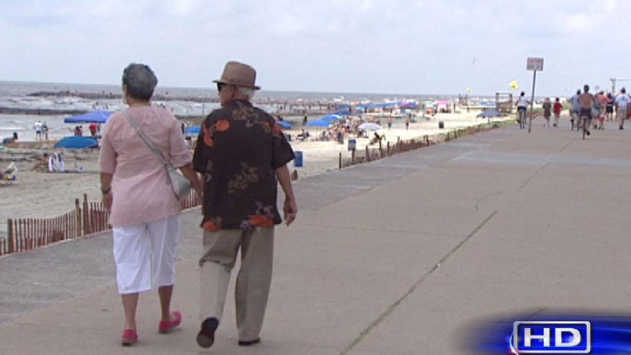 Galveston Island visitors