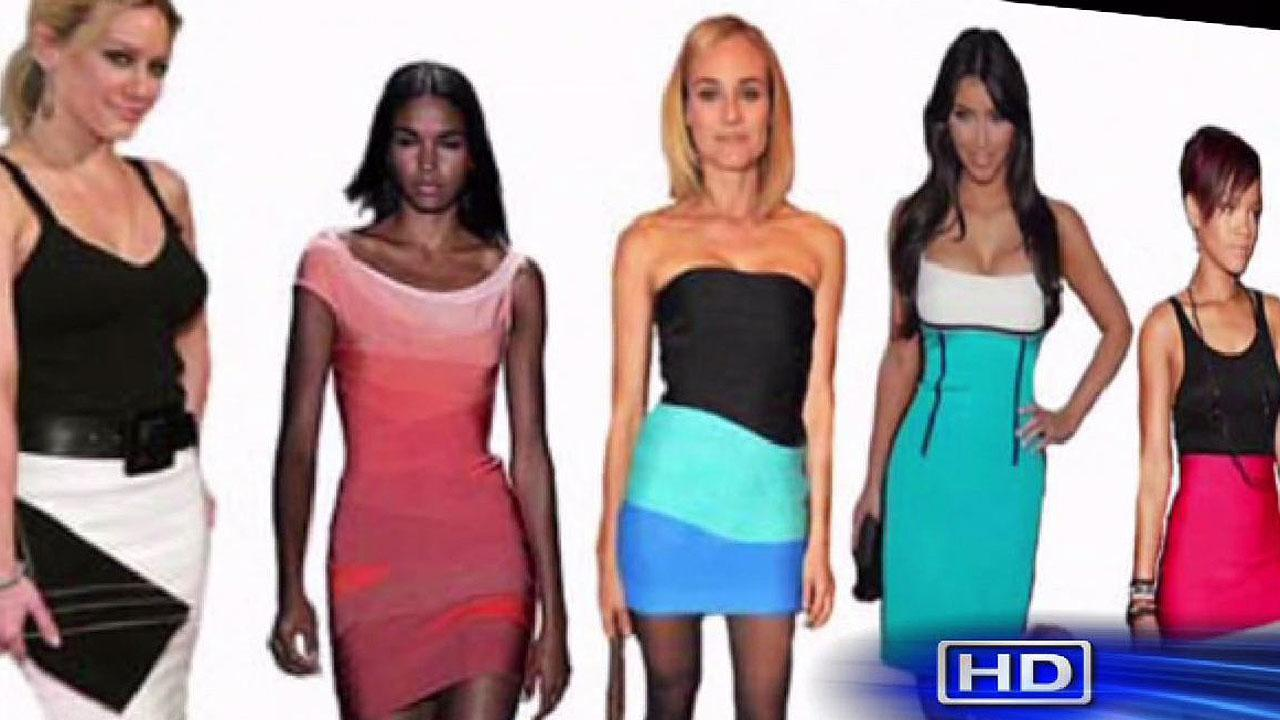 Trendy bandage dress flatters all shapes and sizes
