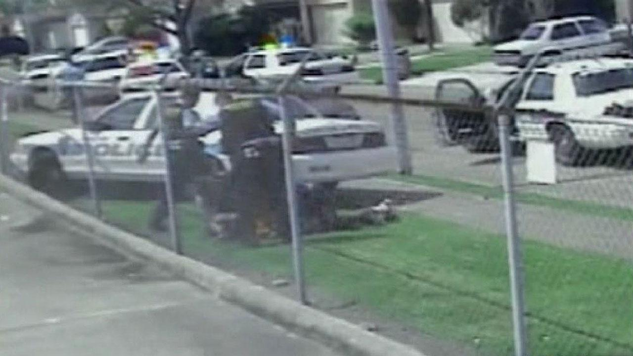 Jury selection has begun for the final officer accused in the videotaped police beating of a teenage burglary suspect