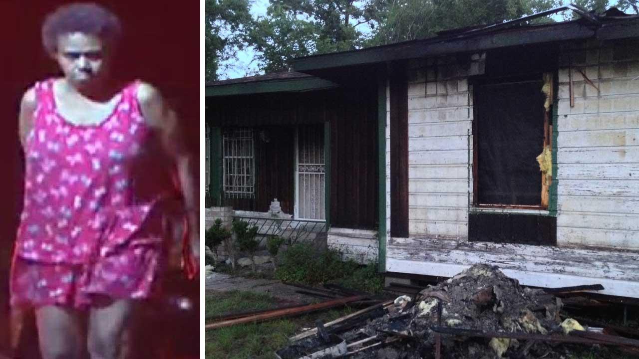 Man says his ex-wife set his NE Houston house on fire