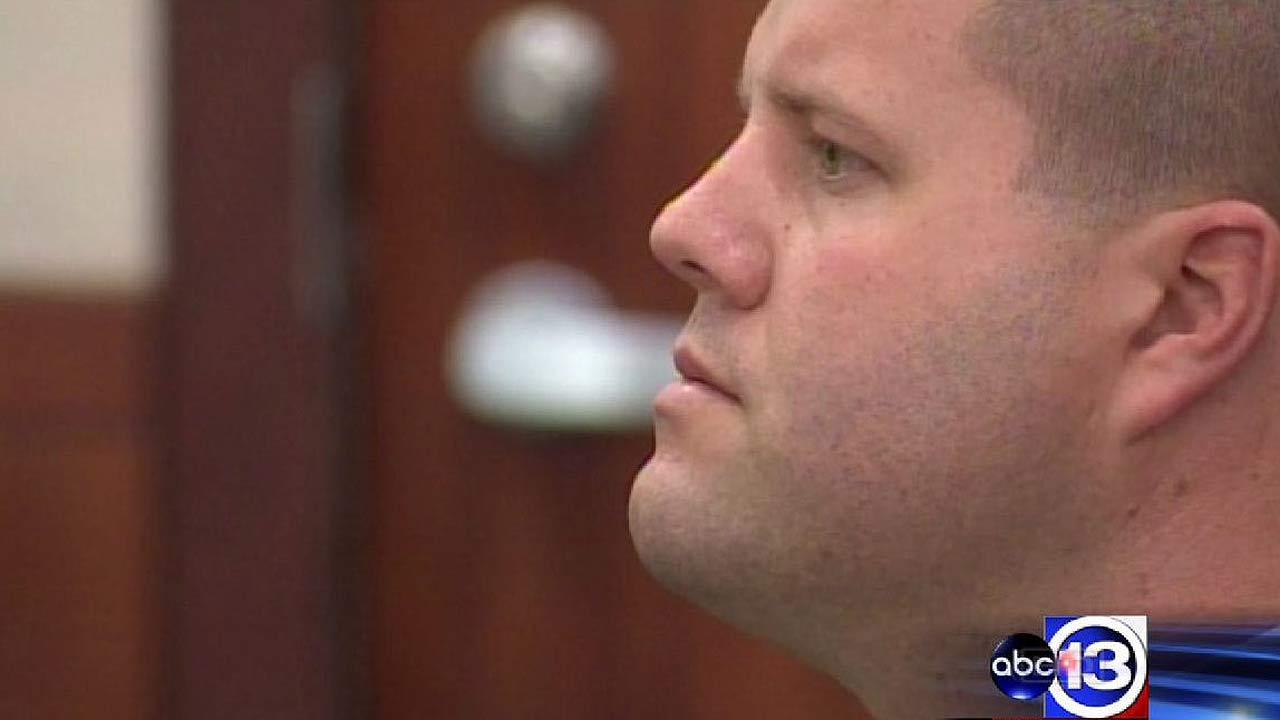 Jury deliberating ex-cop's official oppression case