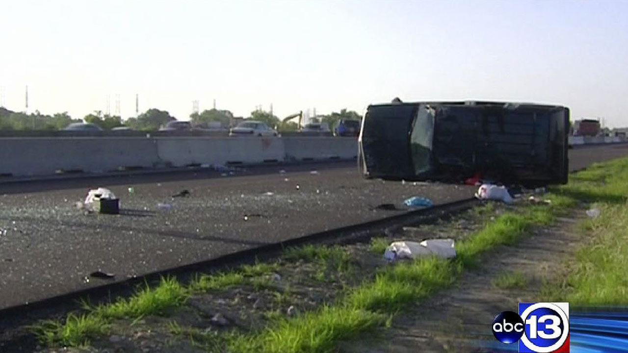 Fatal accident on Gulf Freeway
