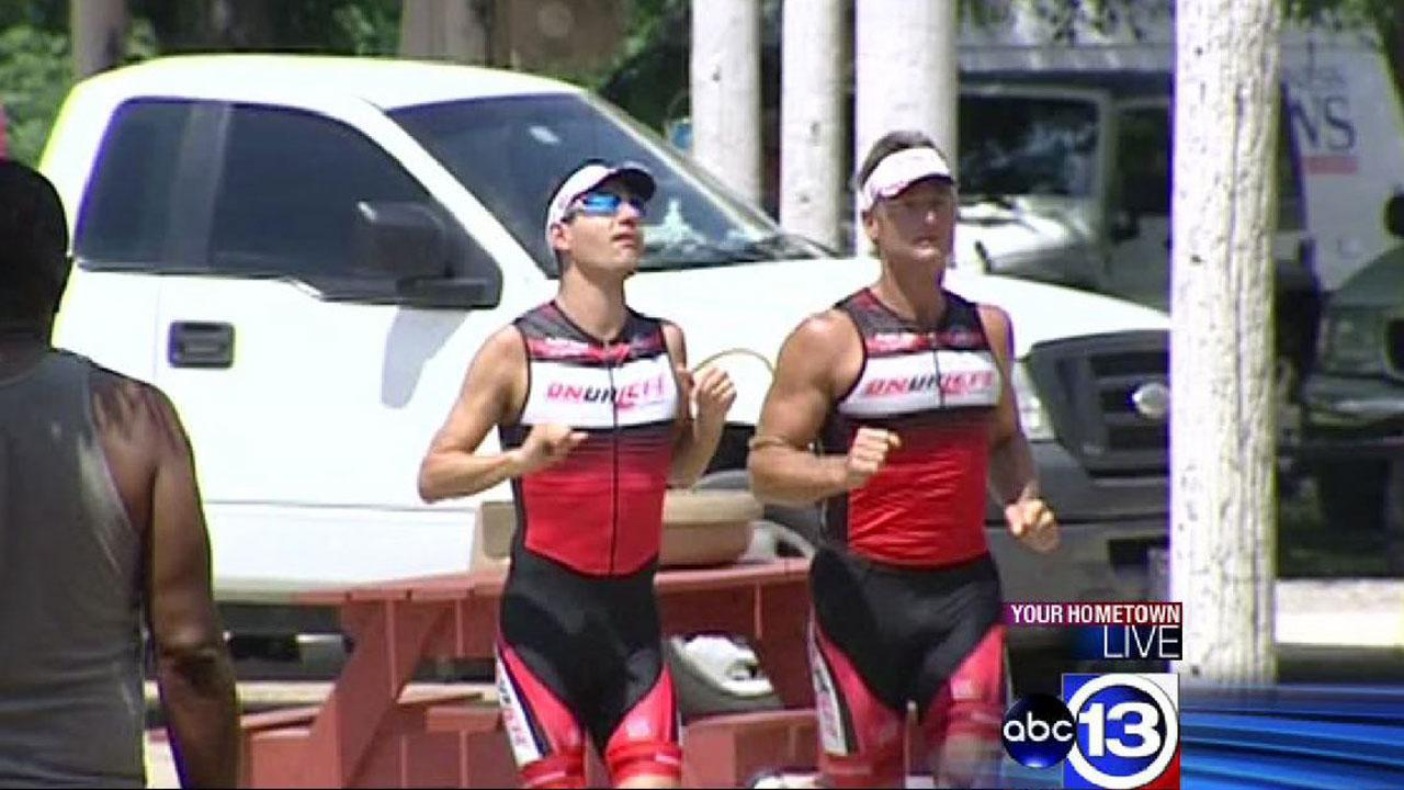 Local blind athlete to represent USA at 2013 ITU Paratriathlon World Championships in London
