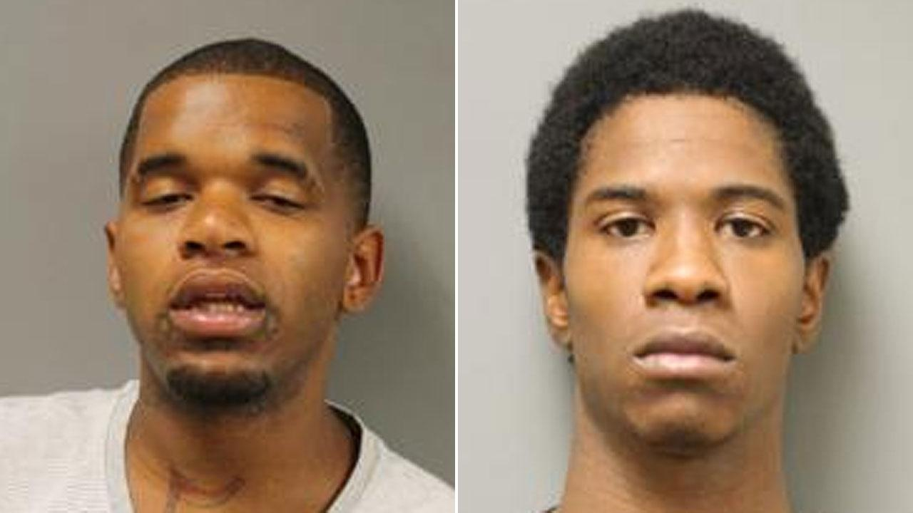 The two men, identified as Kethus Byrd and Patrick Ridioux, reportedly confessed their involvement in multiple car break ins. Both are charged with burglary of a motor vehicle.