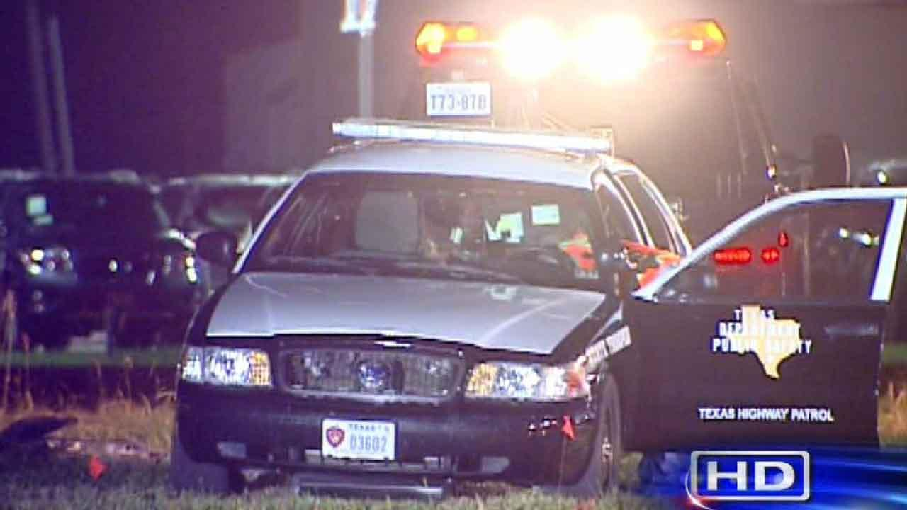 The deputy was in a squad car blocking a lane of traffic on Highway 288 when a woman driving on Highway 288 hit him.