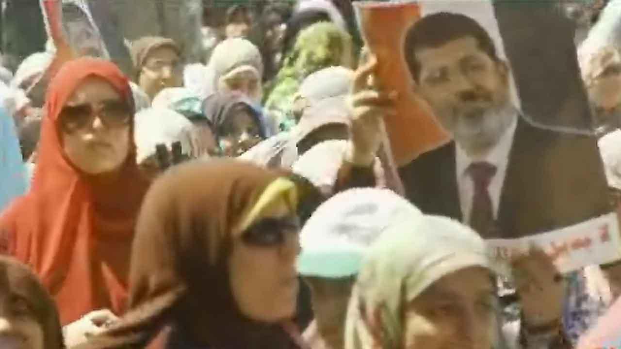 Egypt mobilizes for more street protests over the military's ousting of Islamist President Mohammed Morsi