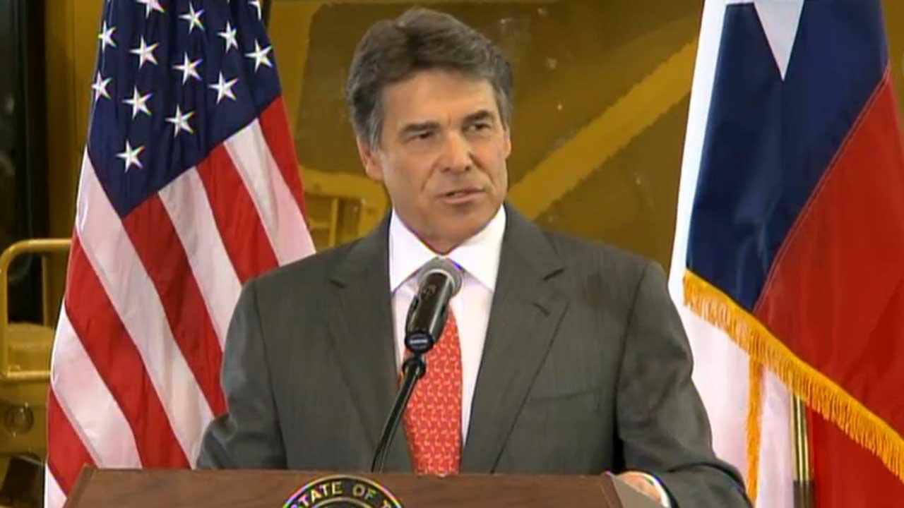 File image: Texas Gov. Rick Perry