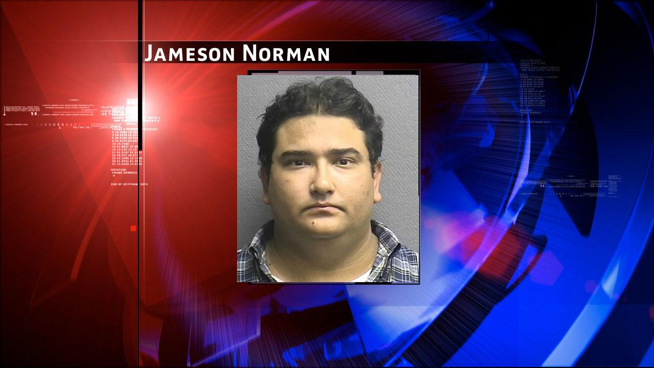 Jameson Matthew Norman, 32, is charged with two counts of felony improper relationship with a student