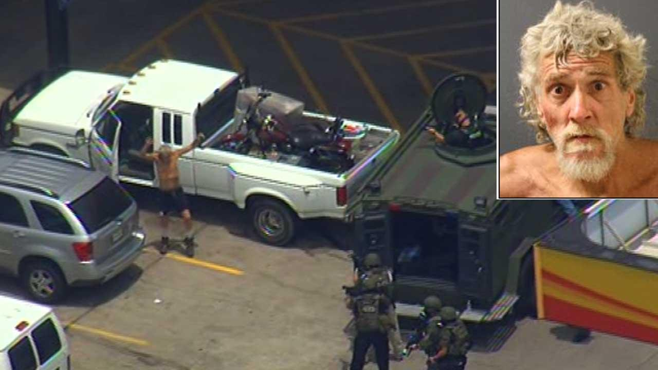 Baytown SWAT standoff ends with suspect in custody