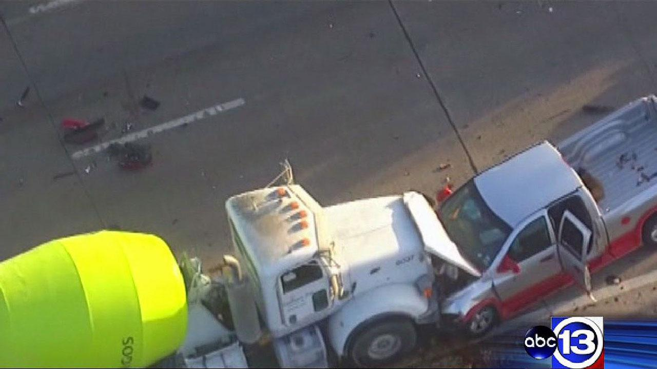 Deadly accident on Westheimer