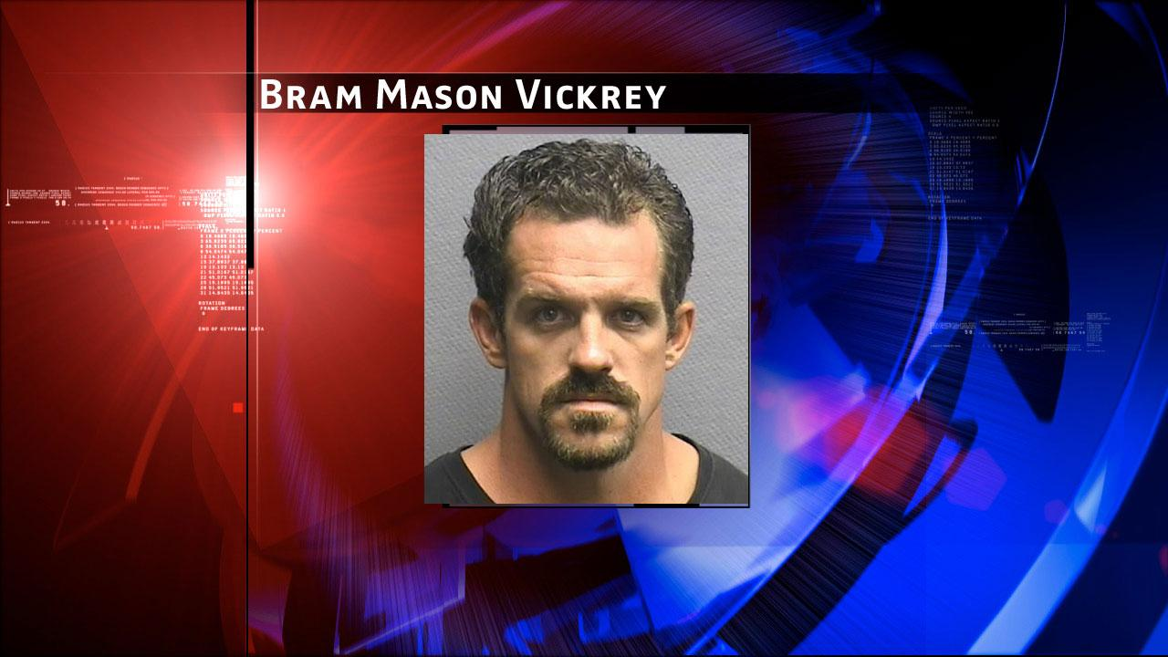 Bram Vickrey, 29, is charged with intoxication manslaughter in the 176th State District Court