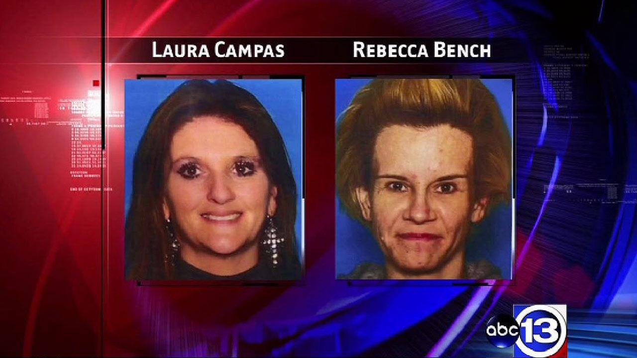 Laura Campas and Rebecca Bench