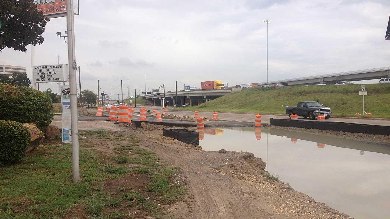 Highway 290 construction to go on until 2016