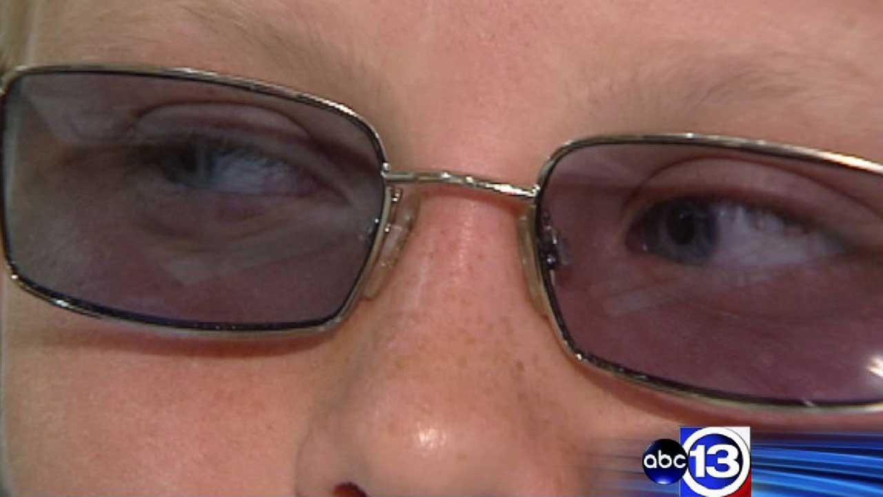 Prescription tinted glasses called ChromaGen lenses helping ease dyslexia