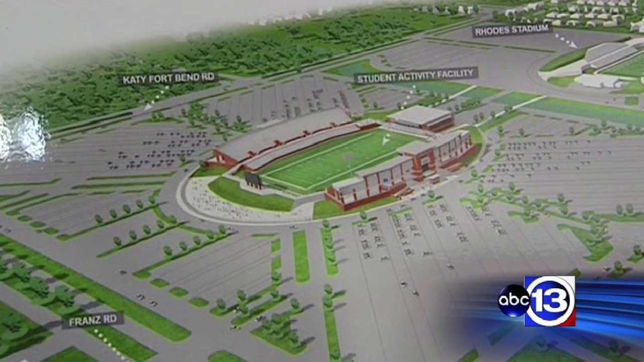 Katy ISD proposes new football stadium