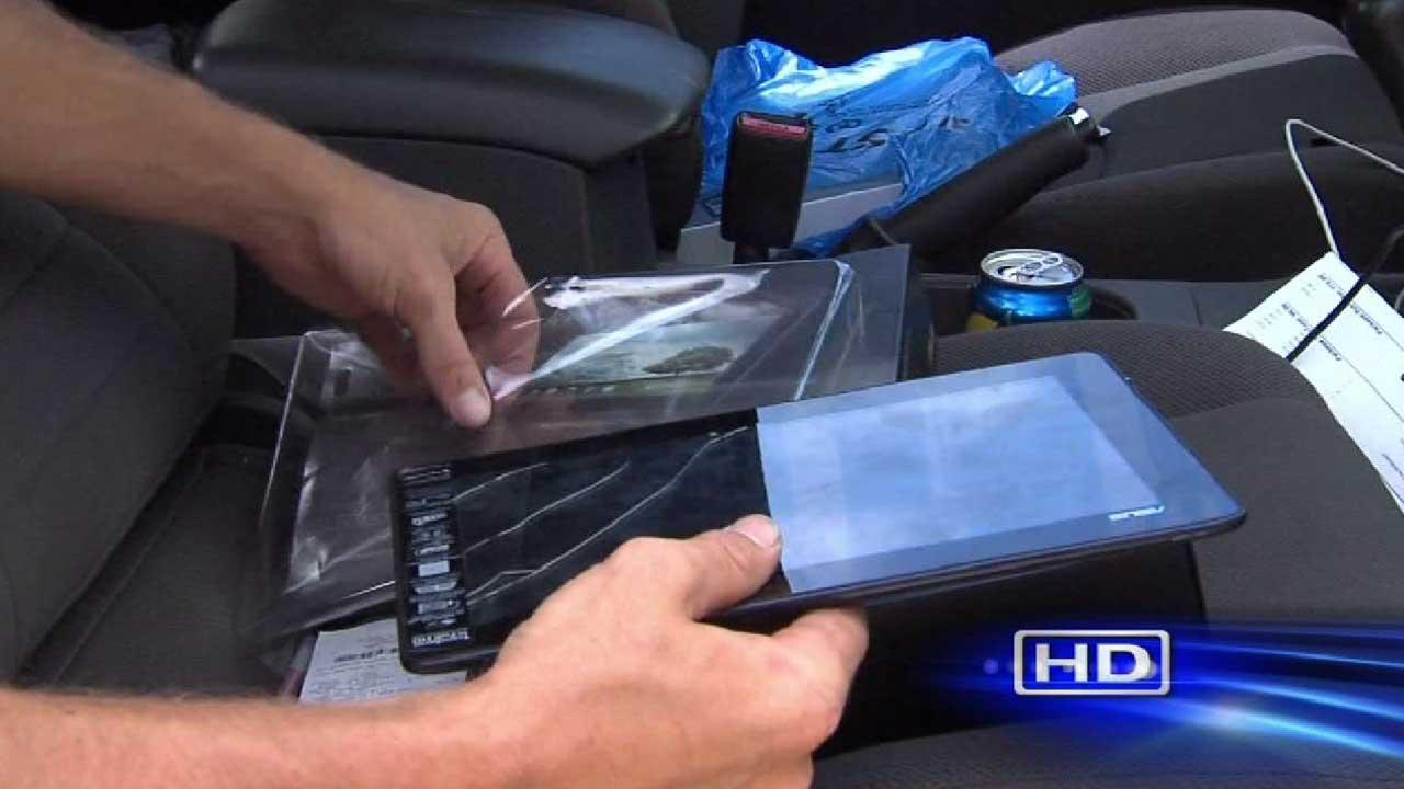 Used tablet found in place of new device at store
