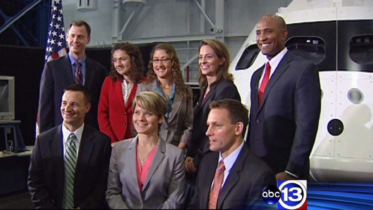 New NASA astronaut candidates