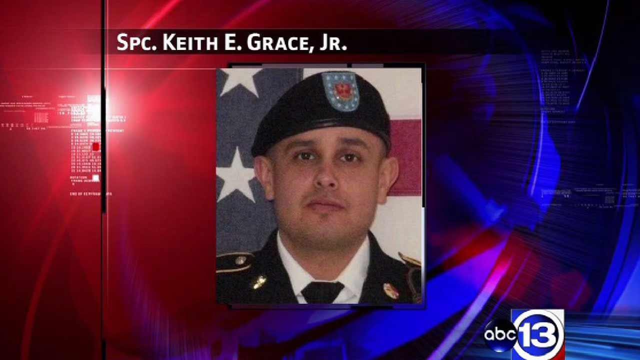 Army Specialist Keith Grace, Jr.