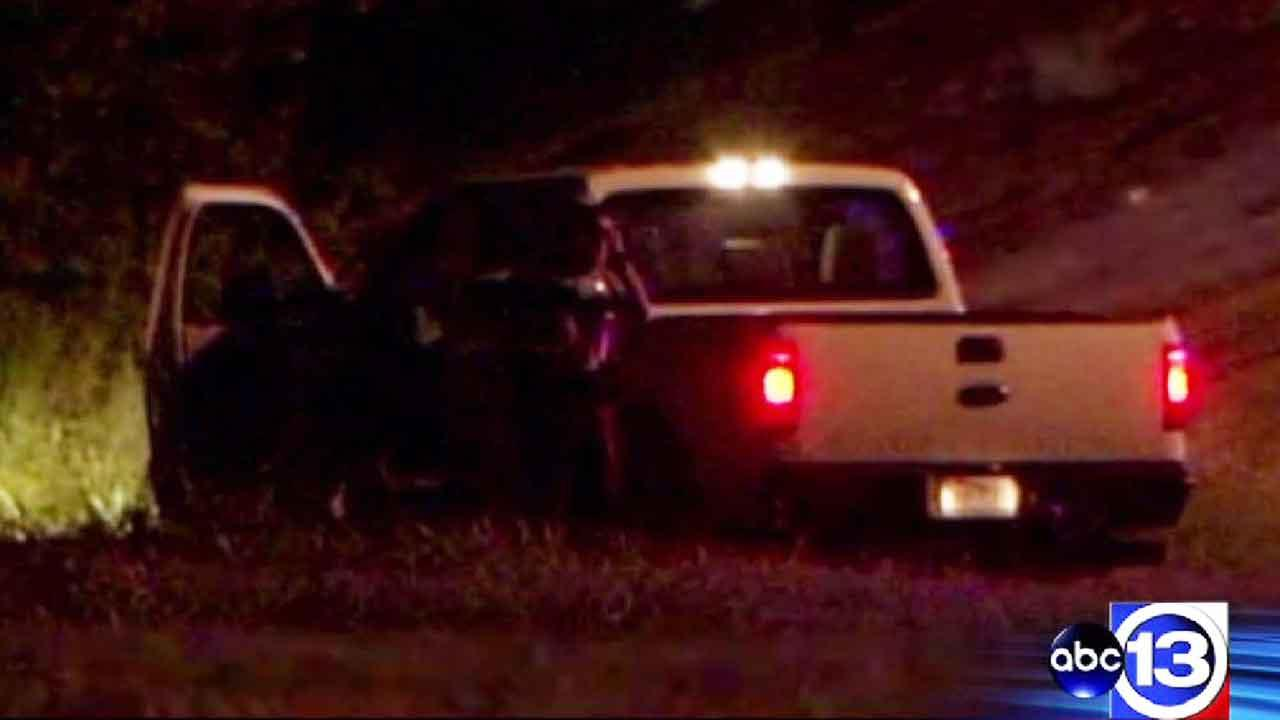 Suspect ditches stolen pickup after police chase