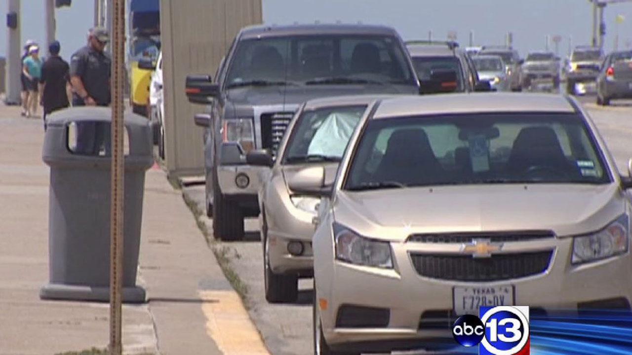 Galveston Seawall parking