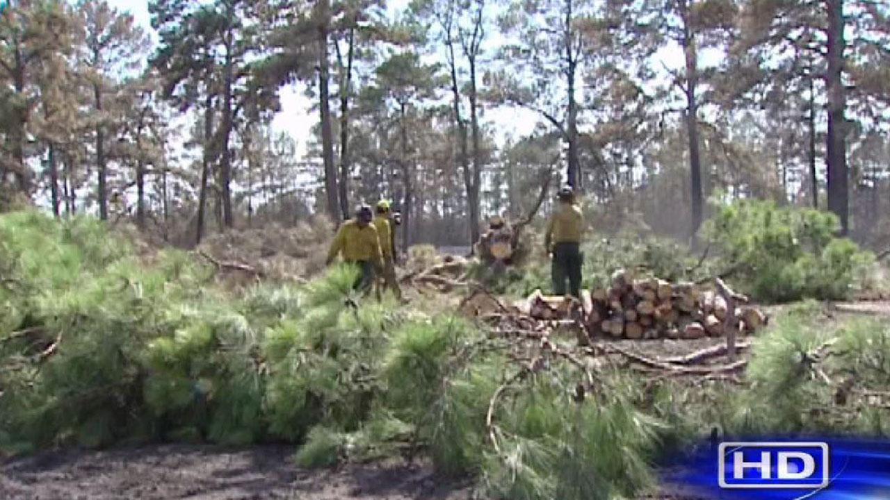 Montgomery County burn ban