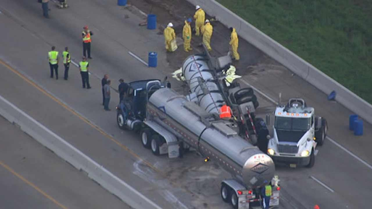 Highway 290 reopens hours after chemical spill