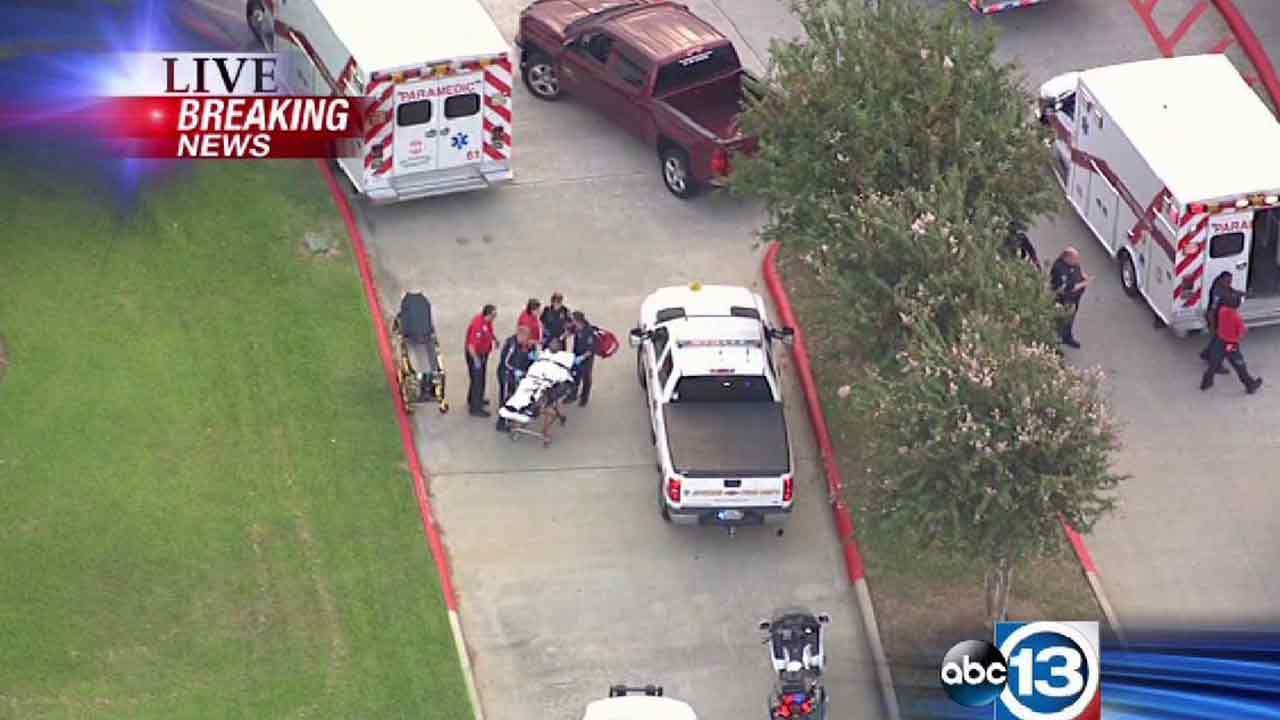The stabbing happened around 7am Wednesday morning.