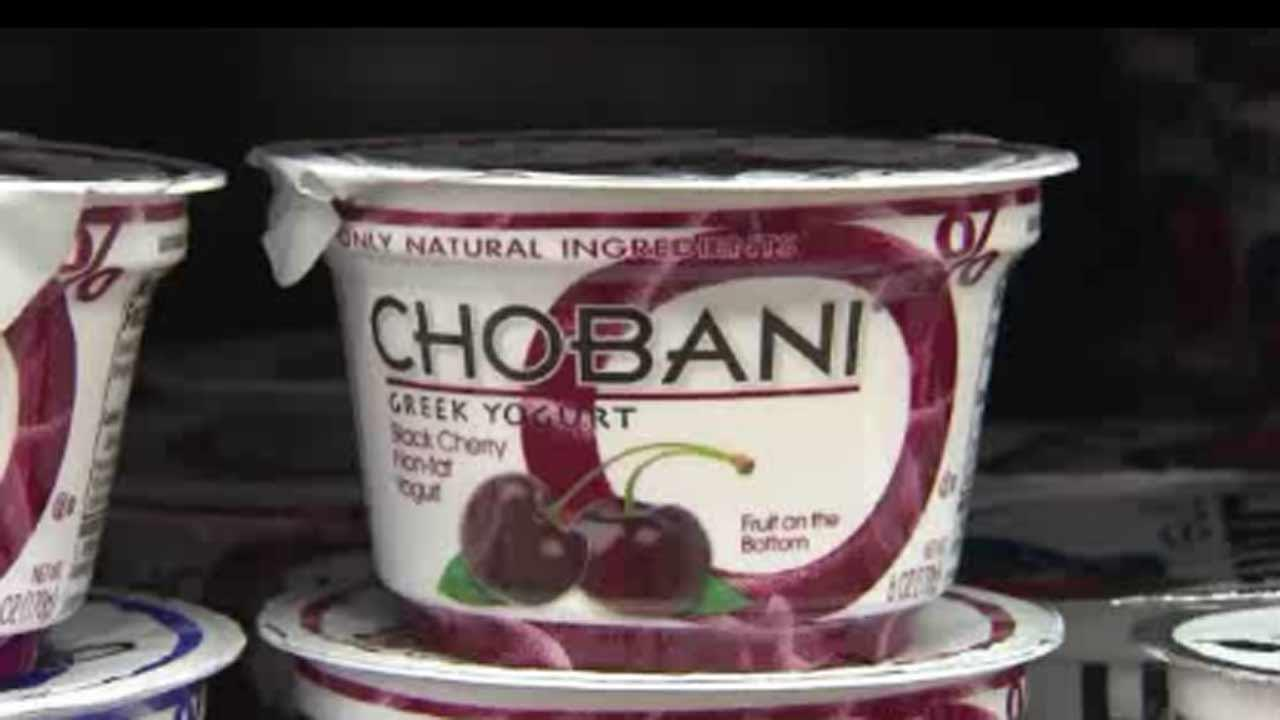 Chobani pulls cups of yogurt from store shelves after investigation turns up mold.