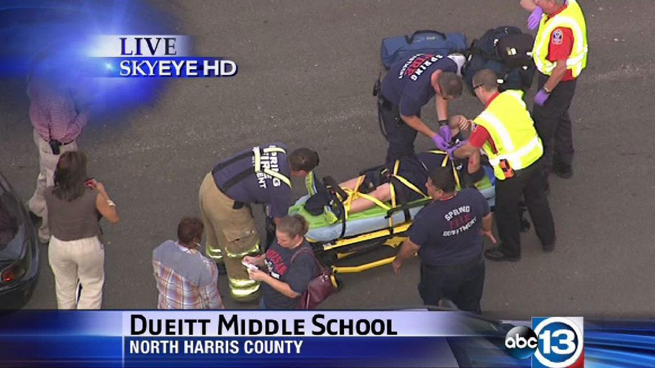 Boy bumped by car outside Dueitt Middle School