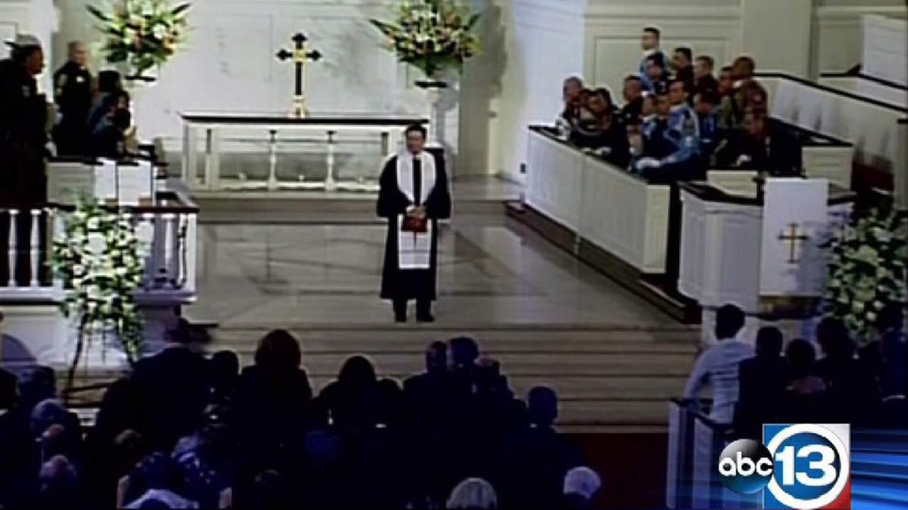 Memorial service for Harris County District Attorney Mike Anderson