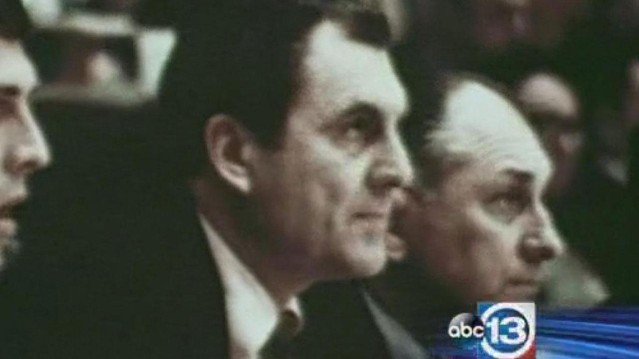 File image of former University of Houston Coach Guy V. Lewis