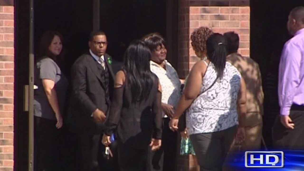 Tight security at slain Spring High School student's funeral