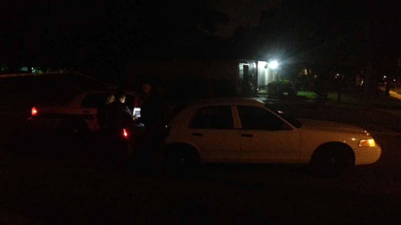 Police standoff ends with woman in custody