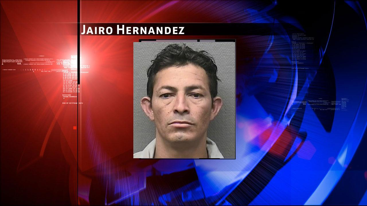Jairo Hernandez, 30, is charged with aggravated sexual assault
