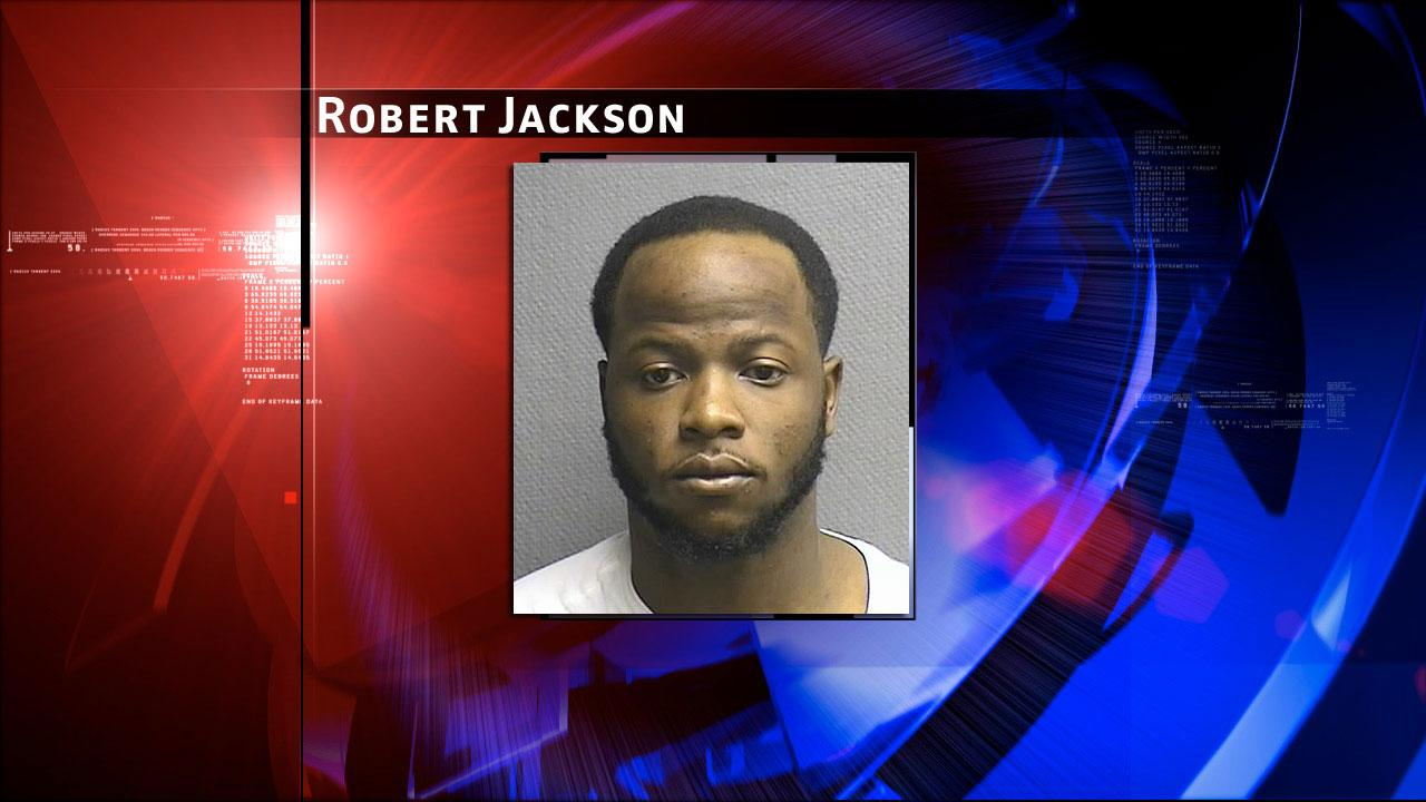 Robert Jackson is accused of injury to a child