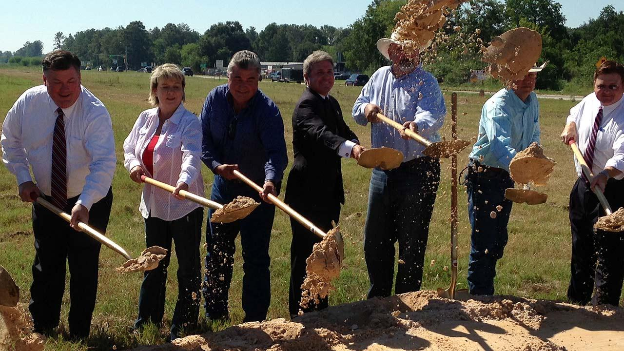 Groundbreaking for expansion of Highway 249