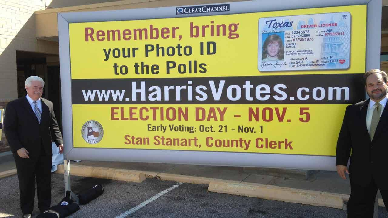 ID required to vote with new law
