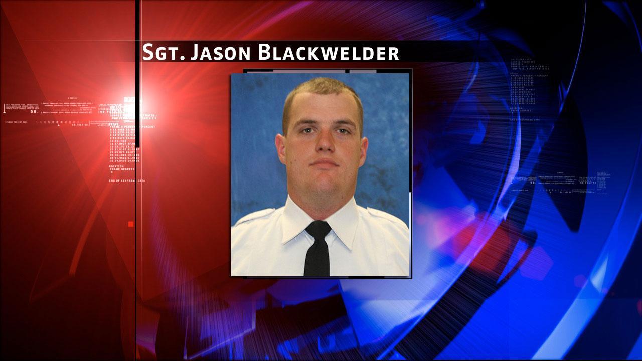 Conroe Police Officer Jason Blackwelder