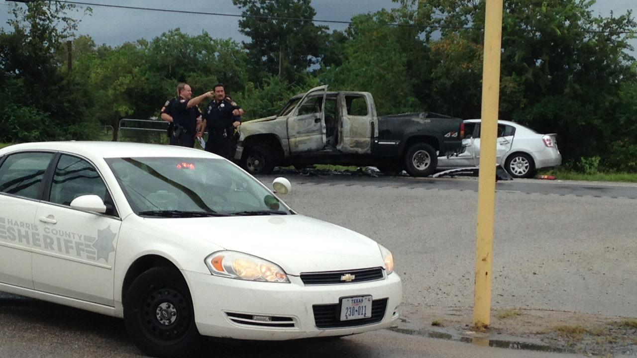 Deadly east Harris County wreck