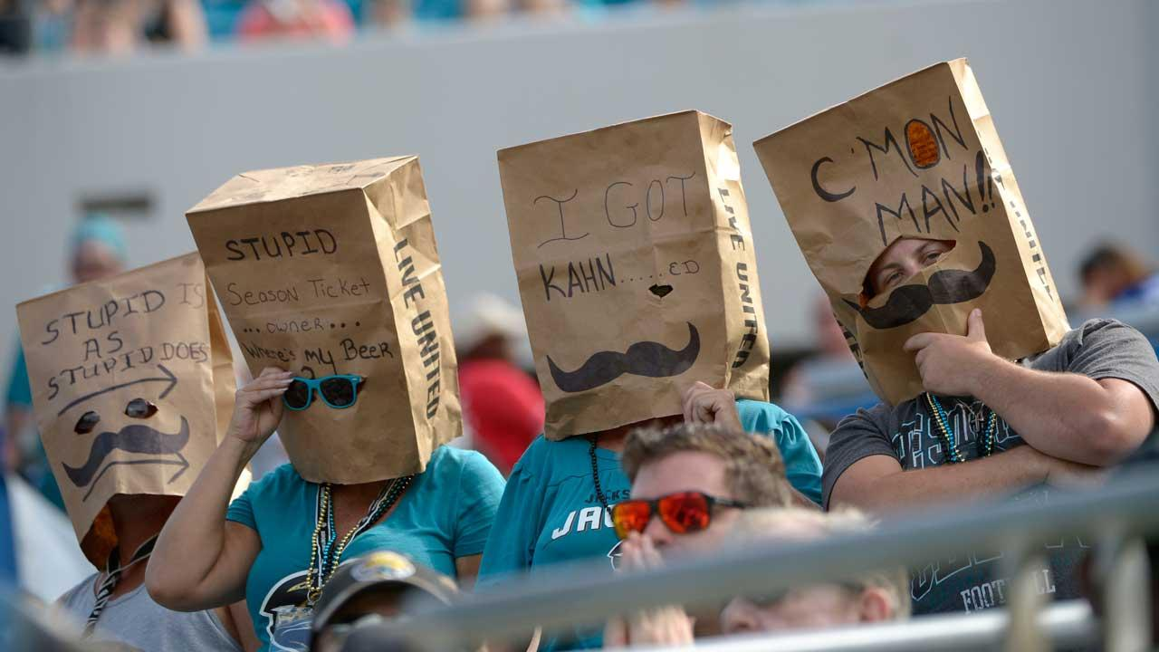 The winless Jags are serving up free beer to those who can stomach their games.