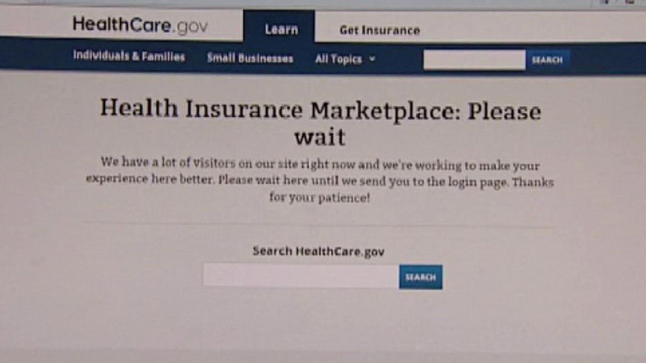 Cant sign up for health care? Youre not alone