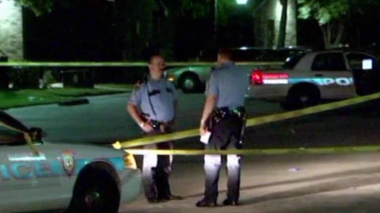 Man shot in the head during fight