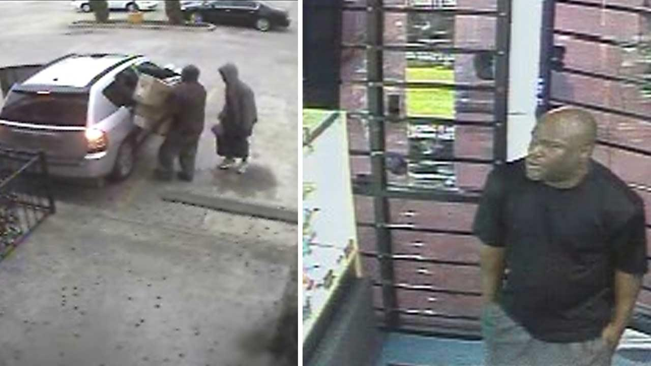 Smoke shop robbery suspects