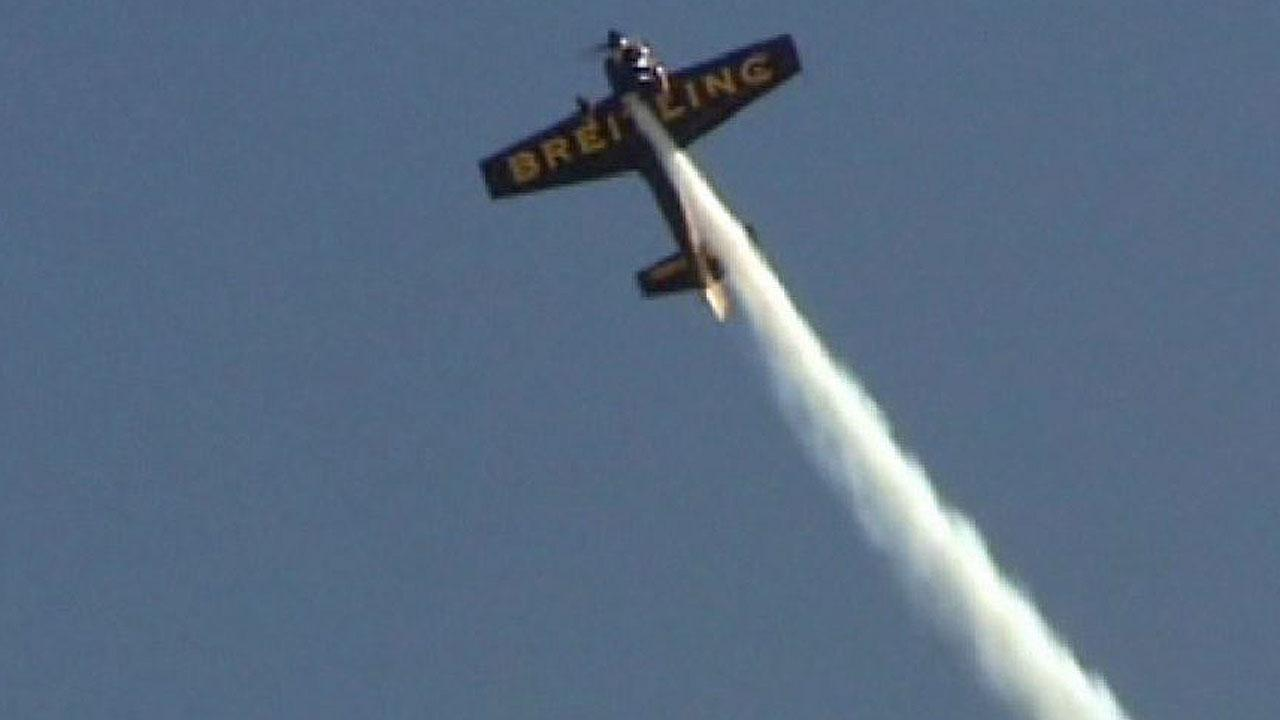 File image: A pilot performs at the Wings Over Houston Airshow at Ellington Airport