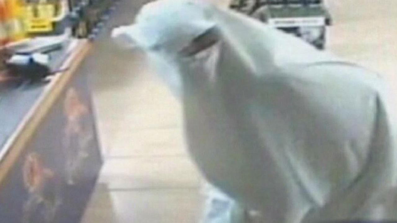 Ghost caught breaking into liquor store